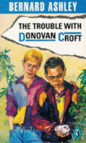 book cover of The Trouble with Donovan Croft