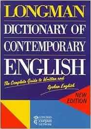 longman dictionary of contemporary english amazon