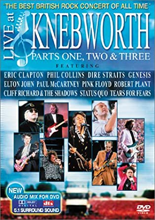 Amazon com: Live at Knebworth, Parts 1, 2 & 3: Michael Blakey, Eric