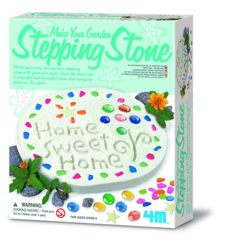 (4M Make Your Garden Stepping Stone Kit)
