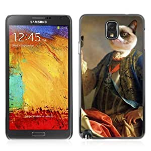 Designer Depo Hard Protection Case for Samsung Galaxy Note 3 N9000 / Grumpy Cat Royalty