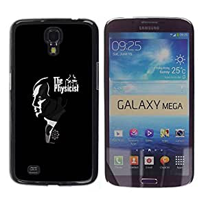 Paccase / SLIM PC / Aliminium Casa Carcasa Funda Case Cover para - Father God Movies Famous - Samsung Galaxy Mega 6.3 I9200 SGH-i527