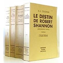 Lot de 4 livres: trois amours -sous le regard des étoiles -le chapelier -le destin de Robert Shannon