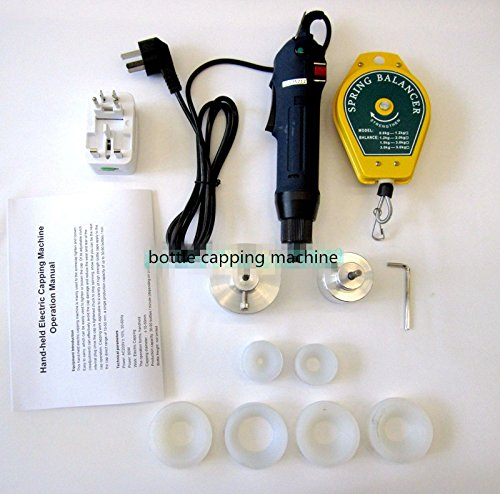 80w Electric manual handheld bottle capping machine bottle capper sealing 200-240V by YJINGRUI (Image #1)