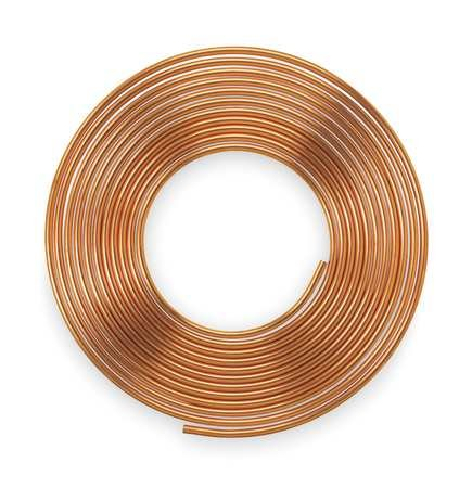 Type K, Soft coil, Water, 1/2 In.X 60ft.