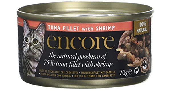 Encore Cat Food - Tuna & Shrimp 70g (Pack of 16): Amazon.com: Grocery & Gourmet Food