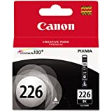 Genuine Canon CLI-226 Black (4546B001) Factory Shrink Wrap and Easy Open Bulk Packaging!