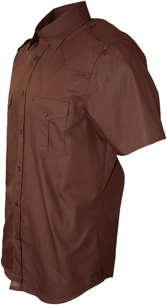 S-5XL Made in Europe ROCK-IT Apparel/® Camicia a Maniche Corte da Uomo Camicia Militare Camicia Casual Vari Colori Camicia Casual Americana