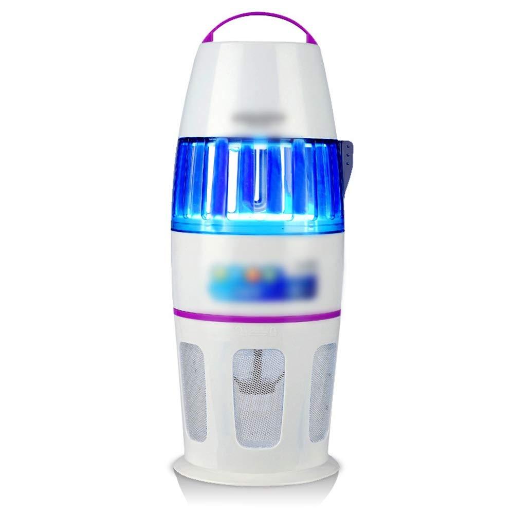 JPAKIOS LEDランプ蚊キラー家庭用室内調光蚊吸入器蚊ザッパーキャッチャー (色 : ホワイト) B07S66HW94 ホワイト