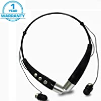 TROVON KBP-500S Bluetooth Stereo Sports Wireless Portable Neckband Headset Compatible for All Smartphones Mobile(Multicolour)