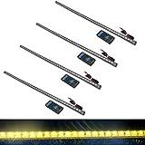 TrendBox 56cm 48 LED 5050 Flexible Soft Waterproof Car Ve...