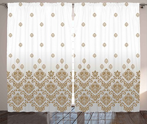 Victorian Curtains Ambesonne Decorations Romantic product image