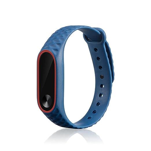 para Xiaomi MI Band 2,PANY,Correa de Reloj Patrón de Camuflaje Pulsera Pulsera