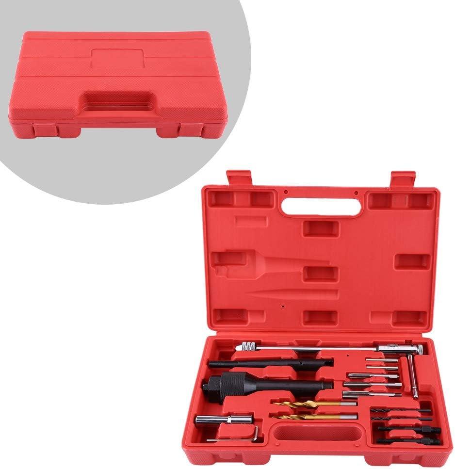 EBTOOLS Gl/ühkerzen Wechsel Ausbohr Werkzeug,Neue Besch/ädigte Glow Plug Removal Tools Set Kit 8mm 10mm Professionelles Zubeh/ör