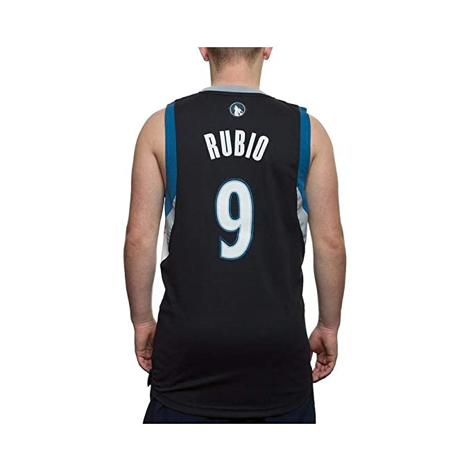 adidas L76315 Camiseta NBA Swingman Ricky Rubio Minnesota ...