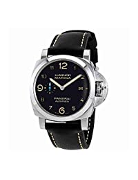 Panerai Men's Swiss Automatic Stainless Steel Casual Watch, Color:Black (Model: PAM01359)
