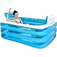 Bathtub Bain Gonflable, la Baignoire est Pliée, épaissie Baignoire Adulte Baignoire Baignoire Bain Barillet en Plastique.