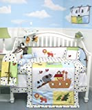 Best SoHo Designs Bed Skirts - SoHo Noah Ark Baby Crib Nursery Bedding 13 Review