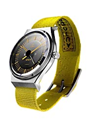 AUTODROMO GROUP B YELLOW AUTOMATIC WATCH NEW ORIGINAL