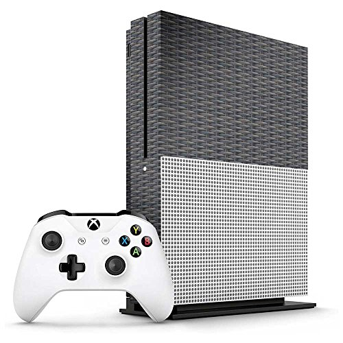 (Xbox One S Rattan Console Skin/Cover/Wrap for Microsoft Xbox One S)