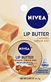 NIVEA Lip Butter, Caramel Cream, 0.59 Ounce