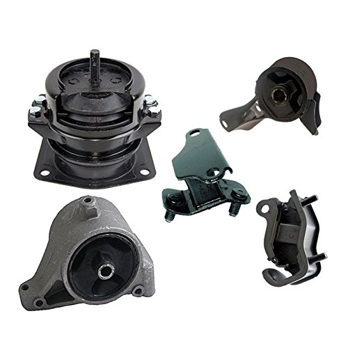 - K0494 Fits 2003-2004 Honda Pilot 3.5L 4WD Motor & Transmission Mount Full Set 5 PCS : A4519HY, A4551, A4523, A6582, A6579