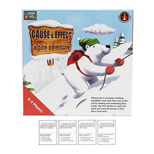 Edupress Cause & Effect Game, Red Level (EP60602) - Learning Well Games