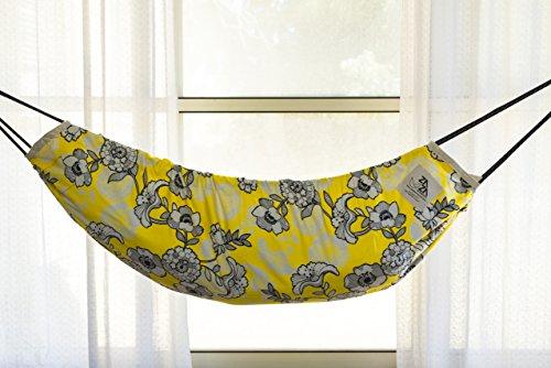 Baby Hammock Swing. Reversible Designer Fabric . Zaza Nature Baby Nest, Swinging Seat Hammock For Babies, Children and Teenagers. by ZazaHammocks