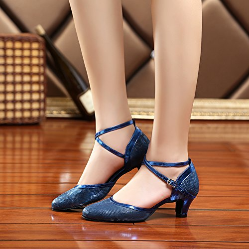 Miyoopark - salón mujer Blue-5.2cm Heel