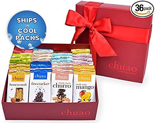 Chuao Chocolatier Share the Love Chocopod Gift Set - Mini Chocolate Bars (36-pack) (Artisan Chocolate)