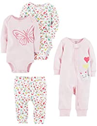 Baby Girls 4-Piece Gift Set