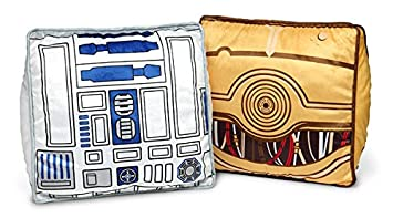 Star Wars Throw Pillow Set – R2-D2 and C-3PO