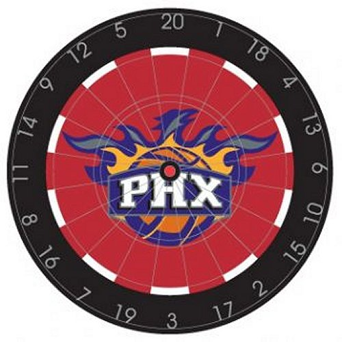 NBA Phoenix Suns 18'' Bristle Steel Tip Dart Board-Limited Quantity!! by Imperial