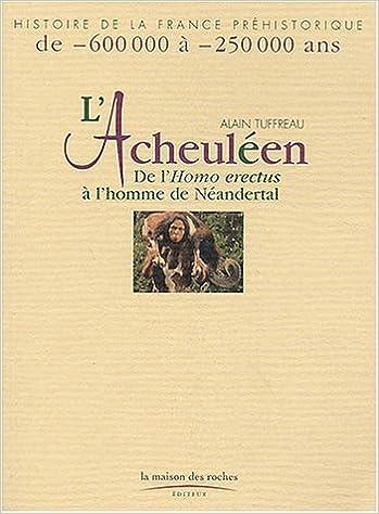 Lire en ligne L'Acheuléen : De l'Homo erectus à l'homme de Néandertal epub, pdf