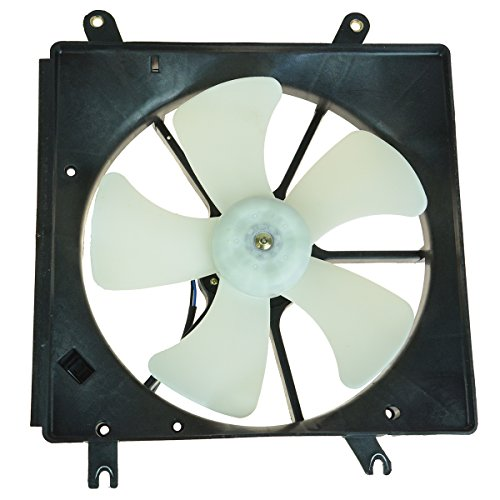 5 Blade Radiator Cooling Fan for Acura Honda CL Accord (Acura Cl Radiator Replacement)