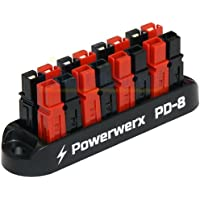 8 Position Power Distribution Block for 15/30/45A Anderson Powerpole Connectors PD-8