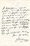 Friedrich Alfred Krupp 1883 autographed letter signed