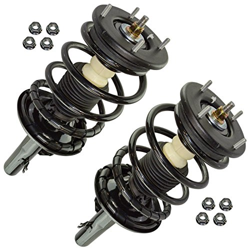 - Front Loaded Quick Complete Strut & Spring Assembly LH RH Pair 2pc Set for AWD