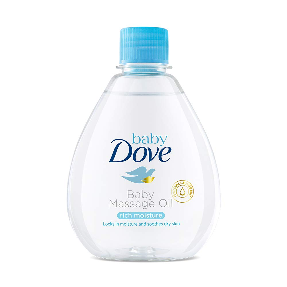Dove Rich Moisture Baby Massage Oil (200ml) by Dove cosmetics