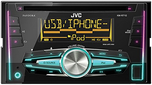 JVC KW-R710 Double-DIN in-dash CD/USB Receiver (Jvc Car Stereo Double Din compare prices)