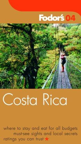 e3e394c36 Fodor's Costa Rica 2004 (Travel Guide): Fodor's: 9781400012558 ...