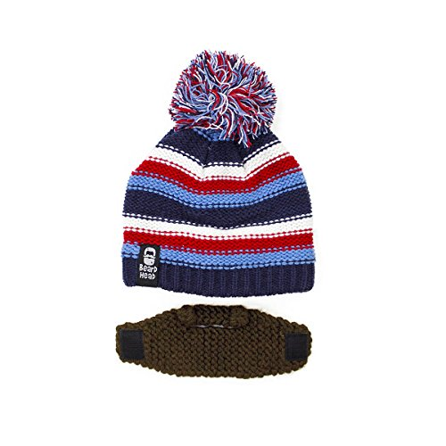 272bbf12f269d Beard Head Kid Gromm Beard Beanie -Knit Hat and Fake Beard for Kids and  Toddlers
