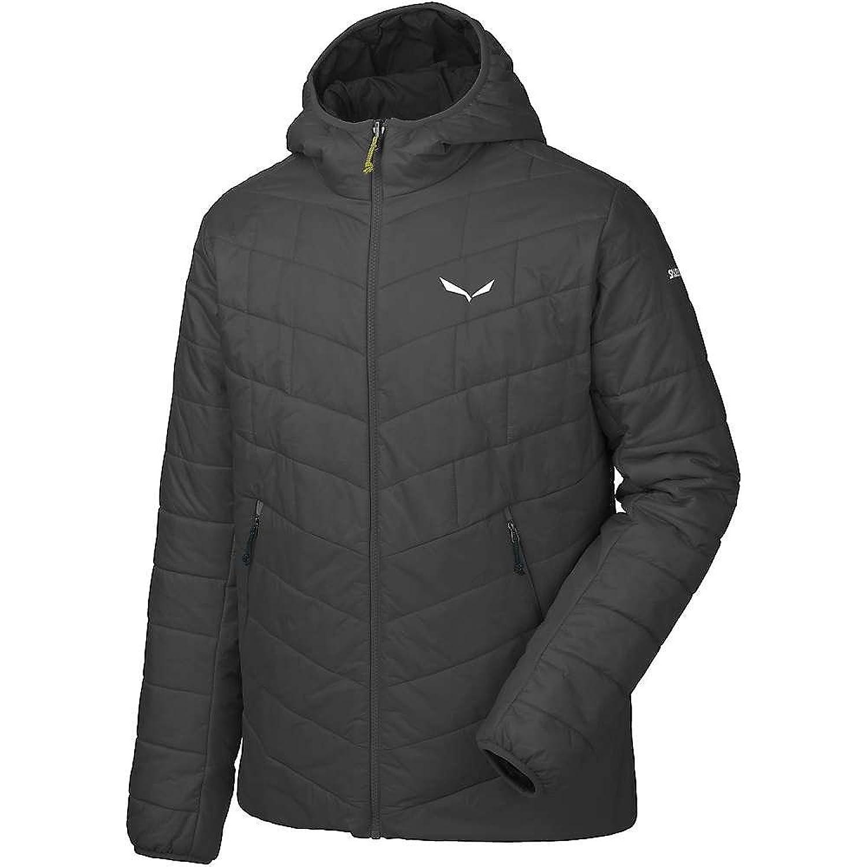 サレワ アウター ジャケットブルゾン Salewa Men's Fanes TW CLT Hood Jacket Black Out 1hz [並行輸入品] B075STQD9Z XL