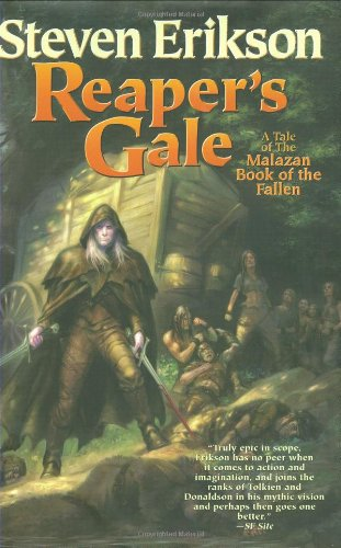 book cover of Reaper\'s Gale