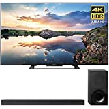 Sony 70-Inch 4K Ultra HD Smart LED TV 2017 Model (KD70X690E) with Sony 2.1ch Soundbar with Dolby Atmos