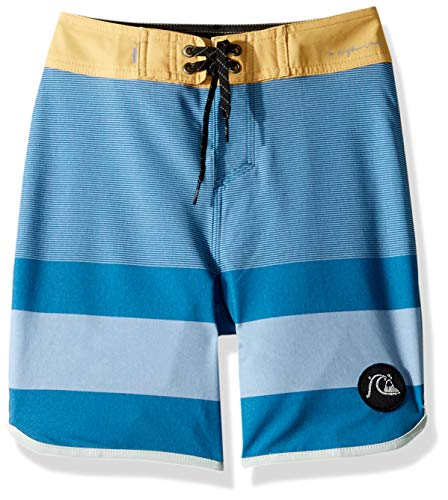 Quiksilver Big Boys' Highline Tijuana Youth 17 Boardshort Swim Trunk, Southern Ocean, 22/8S