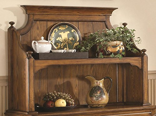 Brooks Furniture 1443 Hutch, Legacy Oak Finish
