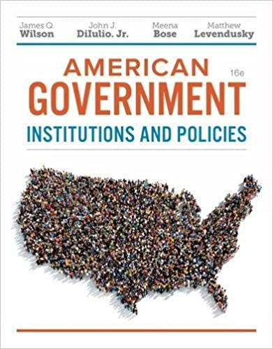 american government institutions and policies 16th edition ebook