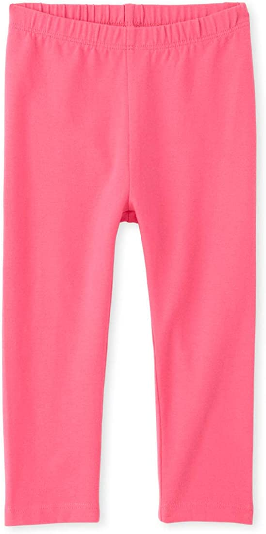 The Childrens Place Baby Girls Solid Leggings