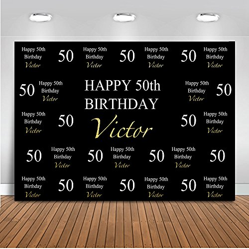 Mehofoto Customized 50th 60th 70th 80th 90th Birthday